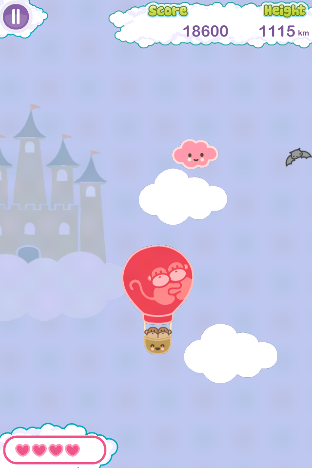 Screenshot Kiwi and Pear's Balloon Adventure Lite